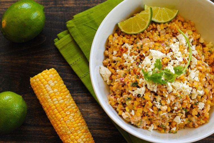 Roasted Mexican Street Corn Salad