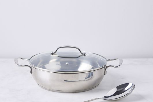 Italian Risotto Saucepan with Bonus Spoon