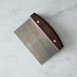 Lamson & Goodnow Walnut Dough Scraper