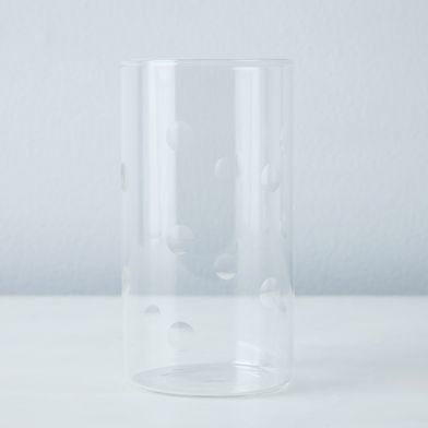 Polka Dot Glass Tumblers (Set of 6)