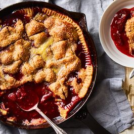 Strawberries & Cream Pandowdy Is the Summer Pie We've All Been Waiting For