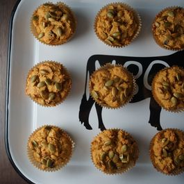 Maple Pumpkin Cranberry Muffins