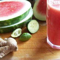 Cool Cucumber Melon Drink