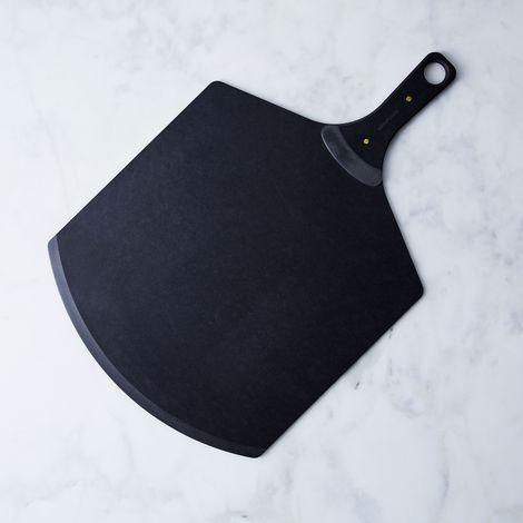 Matte Black & Brass Pizza Peel