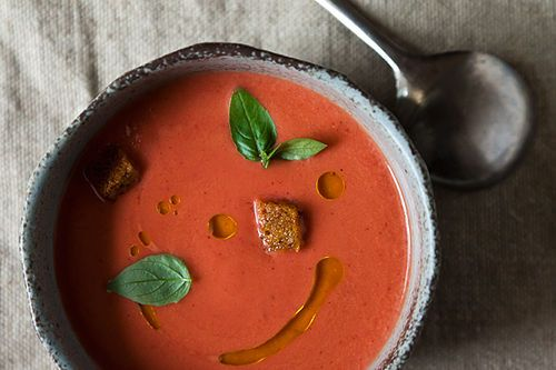 Strawberry Gazpacho on Food52