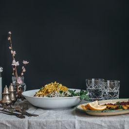 1e7c141d 76b8 4297 b5b3 014457f26de8  persian herby pilaf and fish sabzi polo mahi saghar setareh 1
