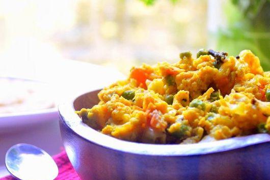 Egg Bhurji - Spiced-up Scrambled Eggs
