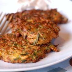 Quick Savory Zucchini Fritters