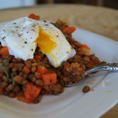 Italian-Style Lentils with Tomato Sauce