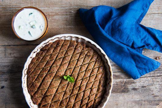 Baked Kebbeh Pie