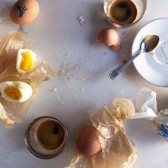 Uova Sode with Seasoned Salt