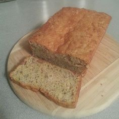 Lemon Pecan Zucchini Bread