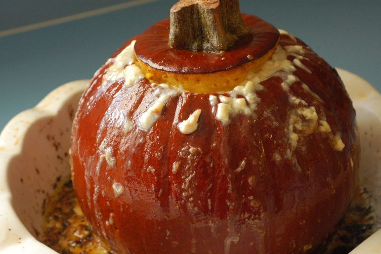 Roasted Cheese Pumpkin