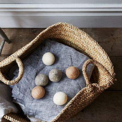 Oatmeal Wool Dryer Balls (Set of 6)