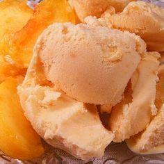 Deluxe Peach Ice Cream