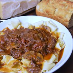 Slow-Braised Short Rib Pasta