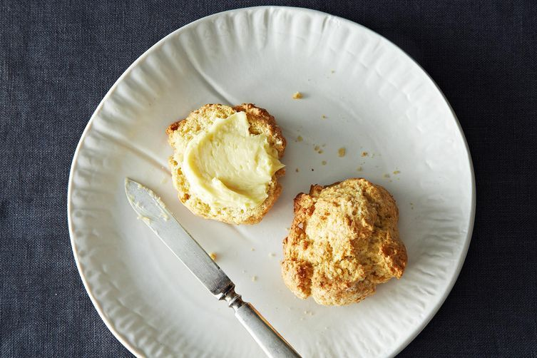 Drop Biscuits with Molasses Butter from Food52