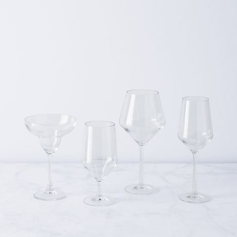 Shatterproof Outdoor Wine & Cocktail Glasses (Set of 6)