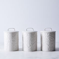 Mason Cash Forest Coffee, Sugar & Tea Canisters