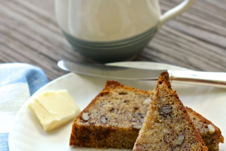 Banana Buckwheat Loaf