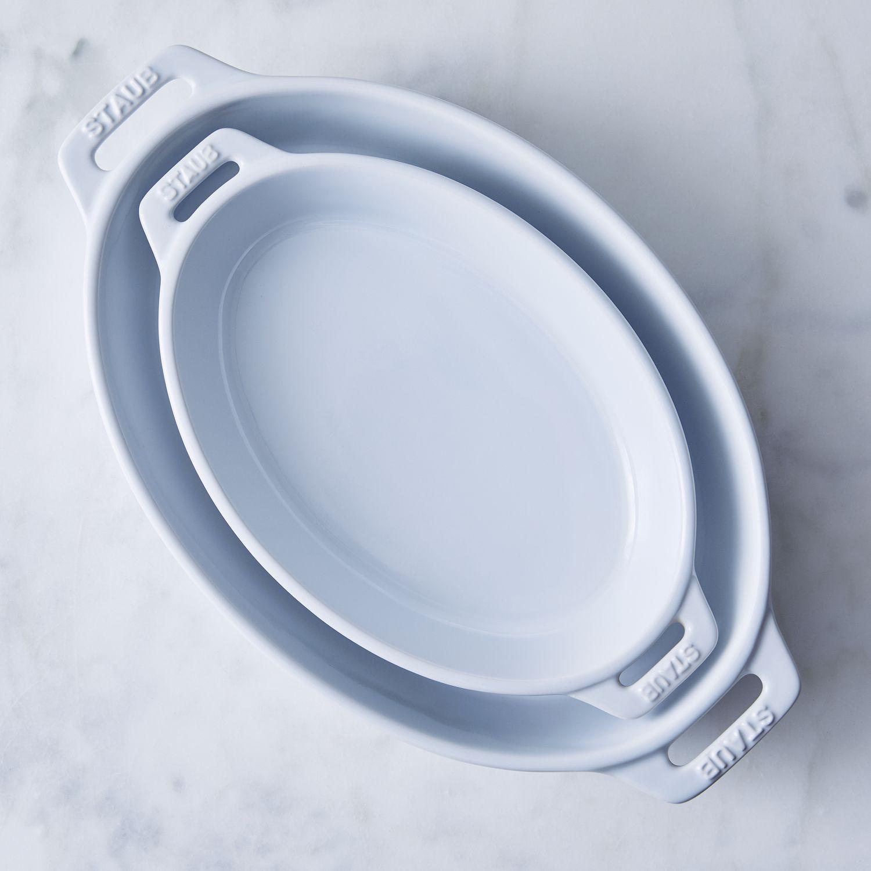 Staub Ceramic 2-Piece Nested Oval Baking Set on Food52