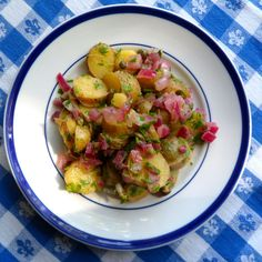 Warm Fingerling Potato Salad