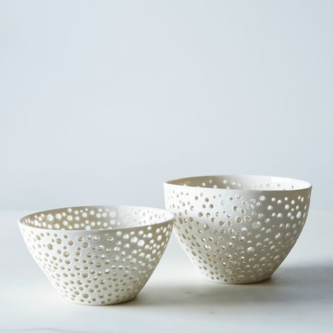 Porcelain Berry Bowl
