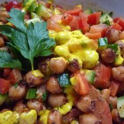 Sumac Chickpea Salad