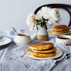 Gravity-Defying Basic Buttermilk Pancakes