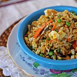 Grandmother's Indo-Chinese Noodles