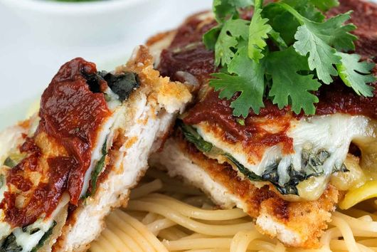 Chicken Parmesan Recipe by Healthy Kitchen 101
