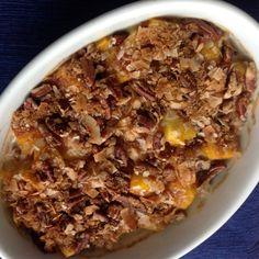 Mango Cream Crisp