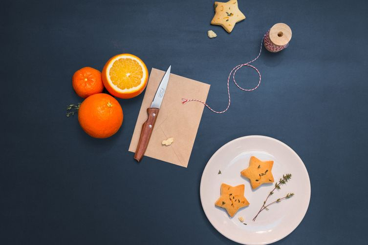 Orange & Thyme Shortbread Biscuits