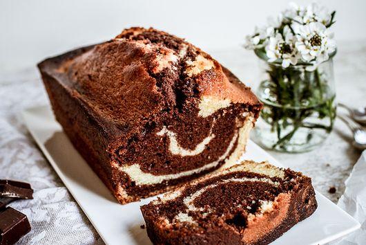 French Marbré Cake
