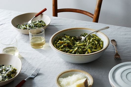 A Seasonal Pesto that Tames Winter Greens