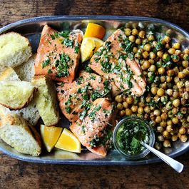 Pan-Roasted Arctic Char with Chimichurri