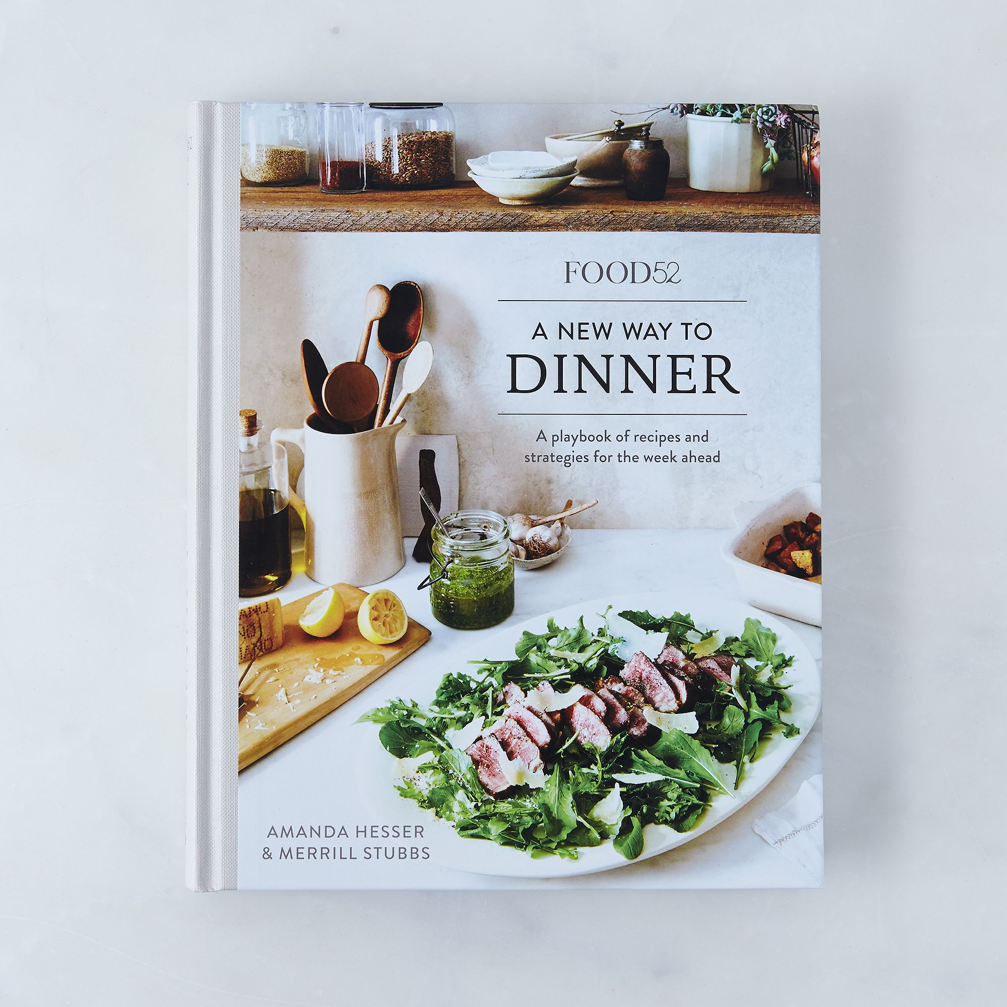 The food52 cookbook collection signed copy a new way to dinner by amanda hesser and merrill stubbs forumfinder Gallery