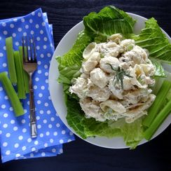 Tuna Tarragon Pasta Salad