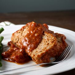 Mom's Barbecued Meatloaf