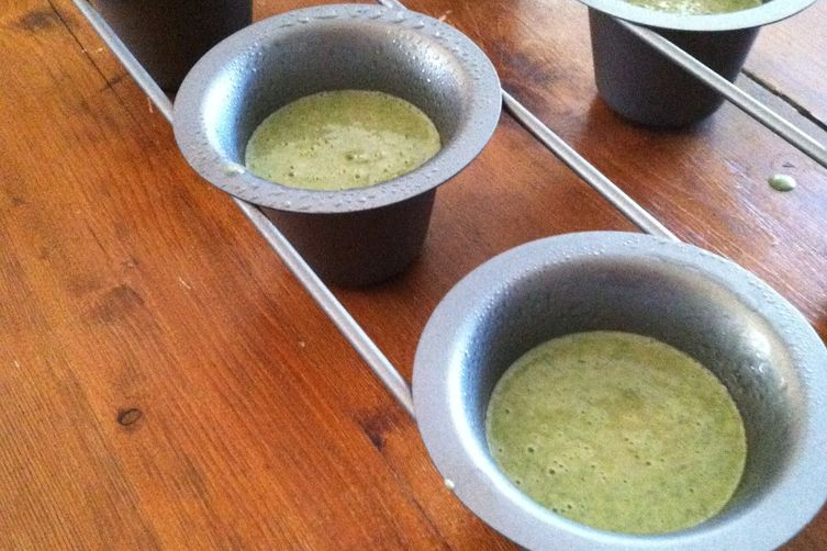Beet Green Popovers