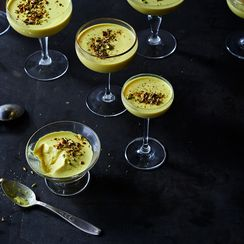 Golden Milk Panna Cotta