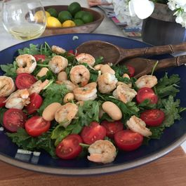 Shrimp and Tuscan Beans Salad