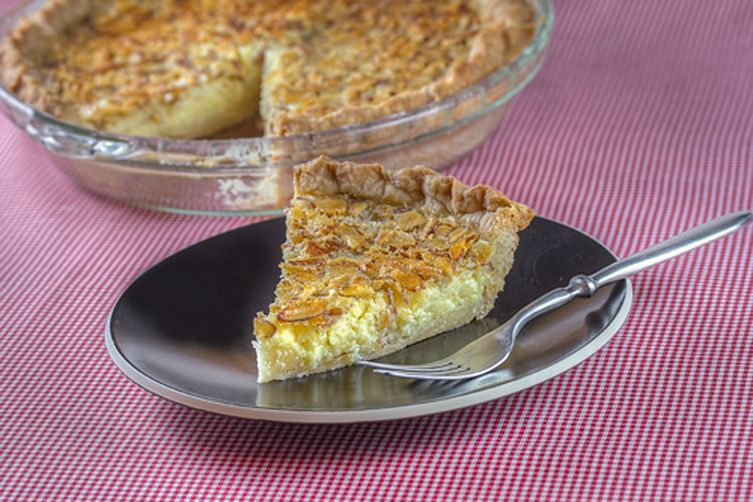 Almond Buttermilk Pie