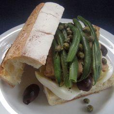 Tuna Nicoise Baguettes