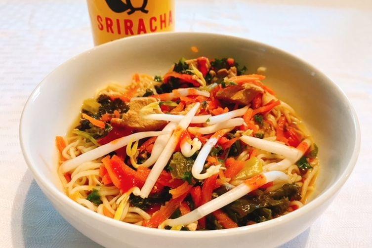 Chicken & Vegetable Ramen Noodles