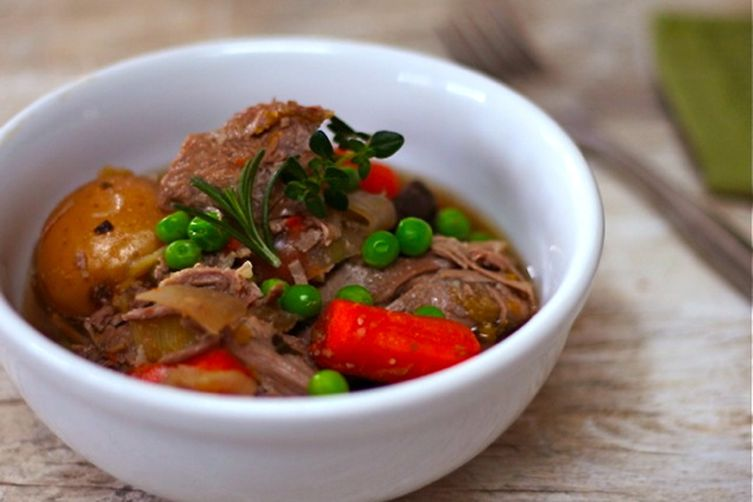 A Lighter Lamb Stew