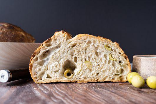 Olive Oil Sourdough With Castelvetranos