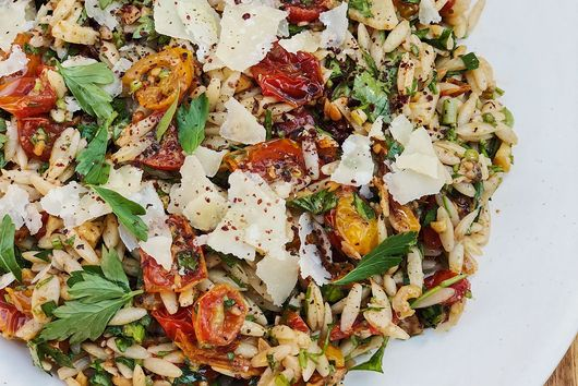 Little Tomatoes & Orzo