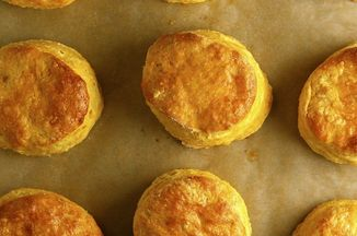 Sweet potato biscuits with honey goat cheese butter recipe for Table 52 goat cheese biscuits