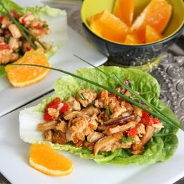 Chinese-Style Chicken Lettuce Wraps
